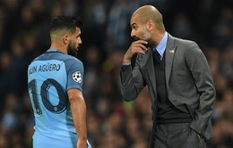 Chuyển nhượng bóng đá quốc tế ngày 25/12/2017: Guardiola cho Aguero tự quyết định tương lai