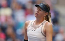 Sharapova dừng bước ở vòng 4 Mỹ mở rộng 2017
