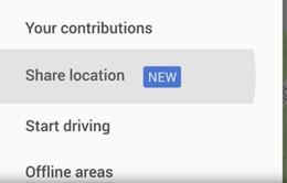 Google Maps cho phép chia sẻ vị trí cho bạn bè