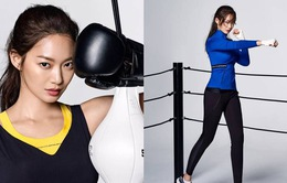 Shin Min Ah khoe thân hình cực săn chắc