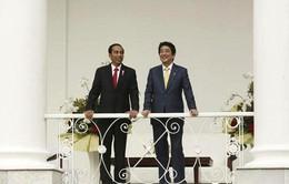 Thủ tướng Nhật Bản kết thúc chuyến thăm Indonesia