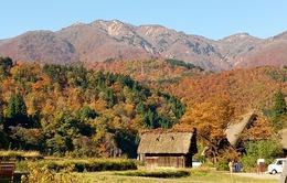 Lạc bước khi đến những ngôi làng xinh đẹp ở Nhật Bản