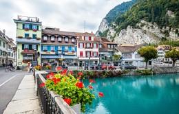 Cảnh đẹp Thụy Sĩ khiến bất cứ ai cũng phải mê mẩn