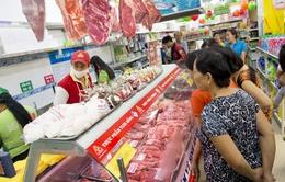 Nhiều siêu thị tại Hà Nội giảm giá thịt lợn