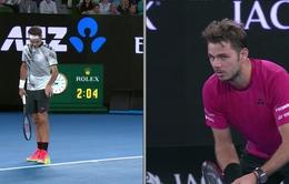 VIDEO: Pha ghi điểm ấn tượng nhất trận bán kết của Federer