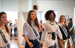 Cô gái gốc Việt lọt chung kết Miss Elegance Belgium 2017