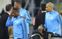 Patrice Evra nhận án phạt cấm thi đấu nội bộ từ CLB Marseille