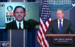 Lần đầu tiên Nhà Trắng trả lời phỏng vấn báo chí qua Skype