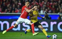 2h45 ngày mai (9/3) VTV3 trực tiếp bóng đá vòng 1/8 Champions League: Dortmund vs Benfica