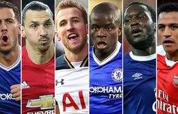 Lộ diện 6 đề cử cho danh hiệu cầu thủ hay nhất Ngoại hạng Anh