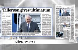 Báo chí quốc tế nói gì về chuyến thăm Nga của Ngoại trưởng Mỹ?