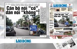 """Họp HĐND TP Hà Nội và TP.HCM: """"Nóng"""" vấn đề quản lý đô thị và tinh giản biên chế"""