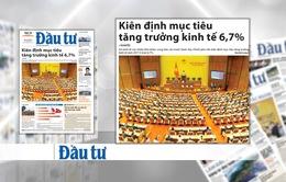 Chính phủ kiên định với mục tiêu tăng tăng trưởng kinh tế 6,7%