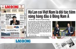 Báo chí đưa tin đậm nét chuyến thăm Đức, Hà Lan và dự G20 của Thủ tướng