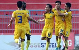 KẾT QUẢ Vòng 22 Nuti Café V.League 2018 ngày 14/9: SLNA 3-1 SHB.ĐN, B.BD 1-1 Than Quảng Ninh, Sanna Khánh Hòa 1-1 CLB Hà Nội
