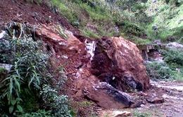 Sạt lở tại Mèo Vạc (Hà Giang) khiến 1 người tử vong