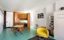 Cách bố trí không gian hợp lý trong căn hộ nhỏ nhiều góc cạnh