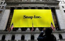 Cổ phiếu của Blue Apron và Snap lao dốc sau báo cáo doanh thu