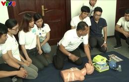Tập huấn sơ cấp cứu phục vụ Tuần lễ cấp cao APEC tại Đà Nẵng