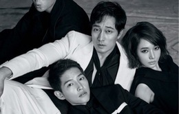 Song Joong Ki lạnh tanh trên tạp chí Harper's Bazaar cùng dàn sao hạng A