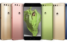"""MWC 2017: Huawei P10 - Smartphone """"tắc kè hoa"""" với 8 phiên bản màu sắc"""