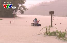 Phú Yên: Sơ tán gần 2000 người dân vùng ngập lụt