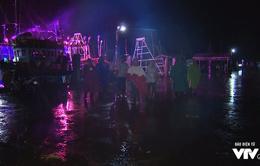 Trắng đêm ứng phó áp thấp nhiệt đới tại Sóc Trăng