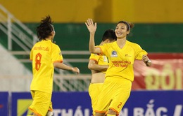 Lượt trận thú 6 giải VĐQG nữ 2017: Phong Phú Hà Nam trở lại ngôi đầu