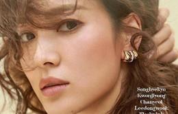 Song Hye Kyo đẹp tựa nữ thần trên tạp chí
