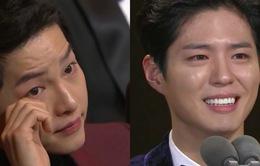 Song Joong Ki rơi lệ vì đàn em tại KBS Drama Awards 2016