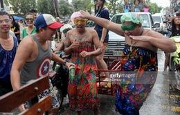 Khai mạc lễ hội té nước tại Thái Lan