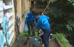 Hà Nội: Sinh viên ra quân diệt bọ gậy, phòng chống sốt xuất huyết