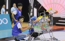 Robocon Việt Nam 2017: Khám phá cơ cấu bắn đĩa đặc trưng của robot