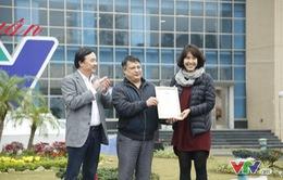 """Trung tâm sản xuất phim truyền hình Việt Nam (VFC) nhận giải đặc biệt tại """"Hội chợ Mùa xuân - GALA SALE"""" 2017"""
