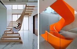 Tròn mắt trước những thiết kế cầu thang ấn tượng trong nhà