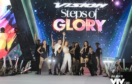 """Mỹ Tâm, Tóc Tiên, Noo Phước Thịnh """"cháy"""" hết mình tại Honda Vision Steps Of Glory 2017"""