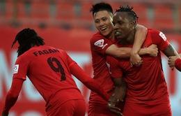Vòng 12 giải VĐQG V.League 2017: SLNA 1-1 CLB TP Hồ Chí Minh, CLB Hải Phòng 3-1 XSKT Cần Thơ