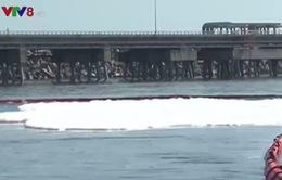 Quảng Ngãi tổ chức diễn tập ứng phó sự cố tràn dầu trên biển