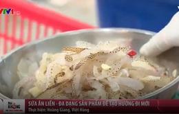 Sứa ăn liền - hướng đi mới của người dân Nam Định