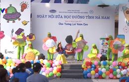 Hà Nam triển khai Sữa học đường cho trẻ em