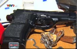 Phát hiện tàng trữ vũ khí tại nhà đối tượng nghiện ma túy