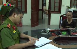 Bắc Giang: Bắt quả tang đối tượng sản xuất súng tự chế