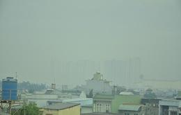 Sương mù dày đặc bao phủ TP.HCM