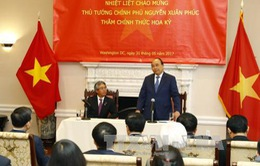 Thủ tướng thăm Đại sứ quán Việt Nam tại Hoa Kỳ