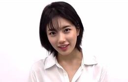 """Suzy gây """"sốc"""" khi bất ngờ cắt phăng mái tóc dài quen thuộc"""