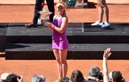 Chung kết đơn nữ Roma Mở rộng 2017: Vượt qua Halep, Svitolina lên ngôi hậu