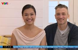 Ca sĩ Phương Vy bật mí về cuộc sống hạnh phúc với chồng Tây trên sóng truyền hình