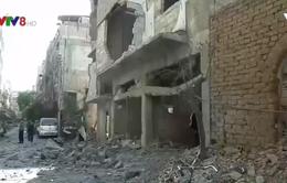 Quân đội Syria đẩy mạnh tấn công tại Damascus
