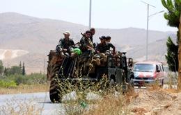 Quân đội Syria tấn công phiến quân tại biên giới với Lebanon