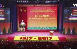 Long trọng kỷ niệm 100 năm Cách mạng tháng Mười Nga